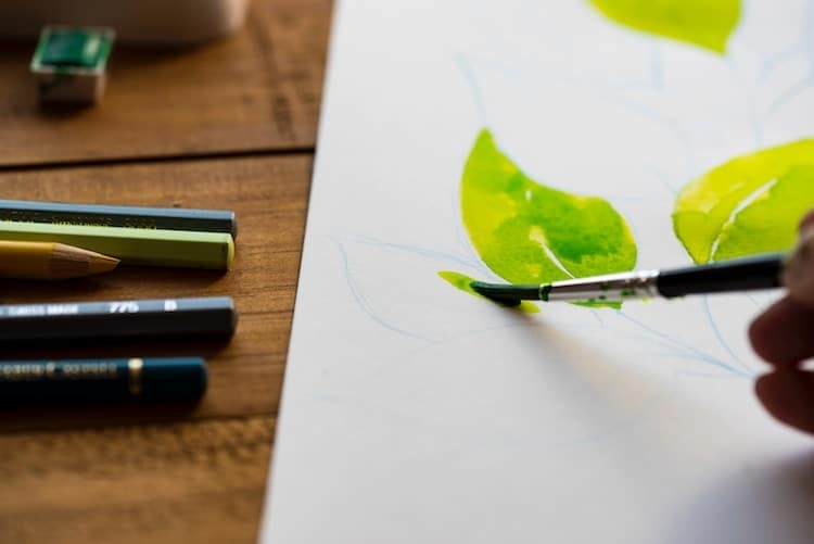 Painting for Beginners: Basic Instruction and Supplies