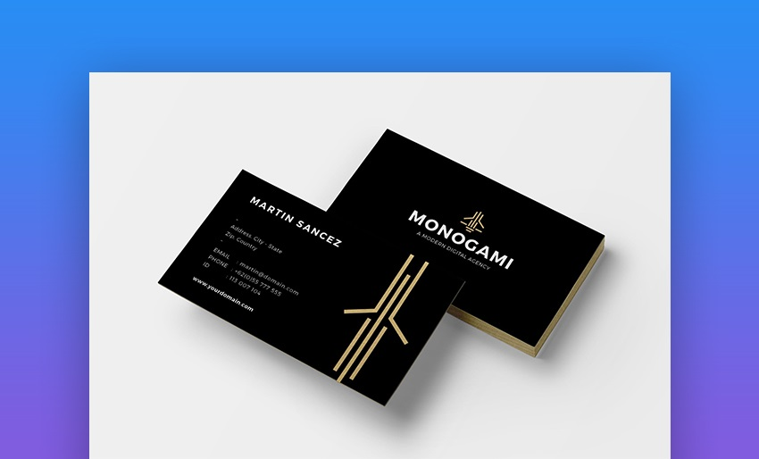 How to make the first impression with the business card?