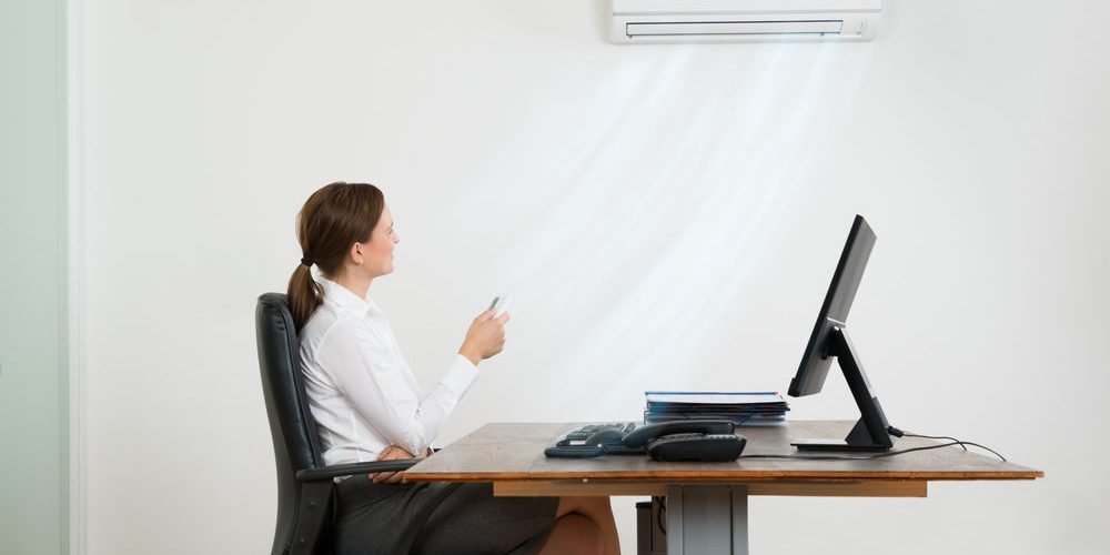 Why do offices need regular HVAC services?