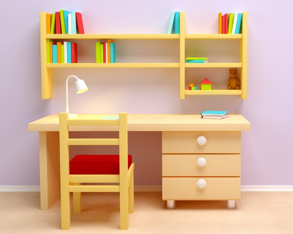 Best-Selling Study Table: Creating A Friendly Environment For Kids